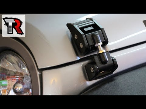 Rugged Ridge Hood Latch Install - Jeep Wrangler JK