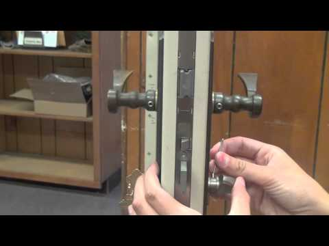 How to Install a 90 Degree Cylinder in a Mortise Lock