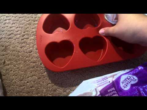 How I clean my silicone molds!