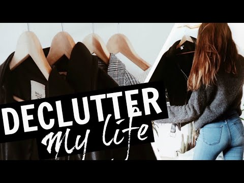 Declutter My Room With Me // HUUUGE CLEANOUT! /  Nika Erculj