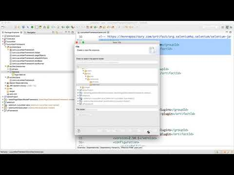 Create Package and Explain Feature file Video-5
