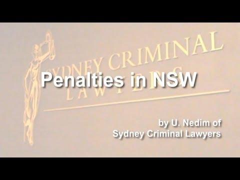 Penalties in NSW
