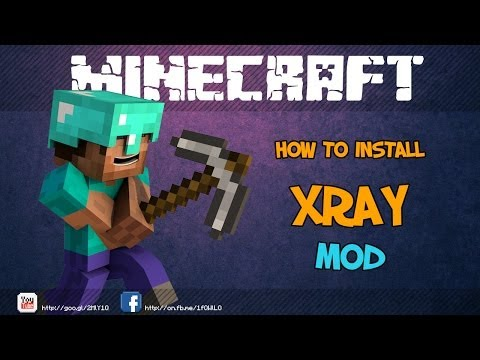 How to install : Xray Mod [1.7.2/1.7.4]