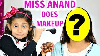 Meet 7 Year Old Makeup Artist - ft. MyMissAnand | ShrutiArjunAnand