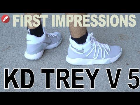 Nike Kd Trey V 5 First Impressions!