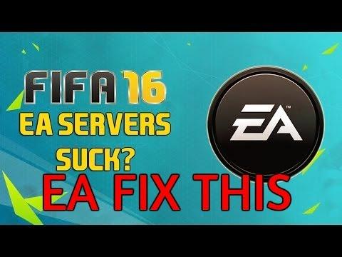 FIFA 16 Problem EA Servers Need A Doc #EA FIX THIS