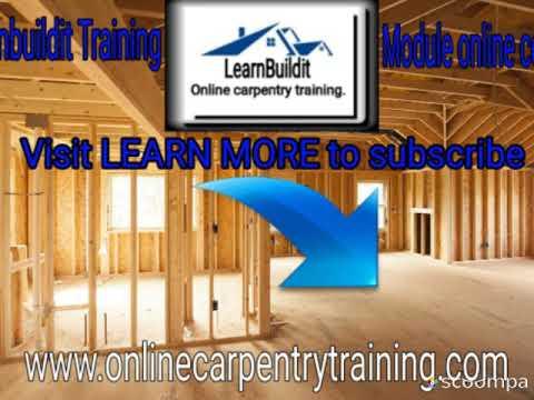 Online carpentry training-Free tutorials