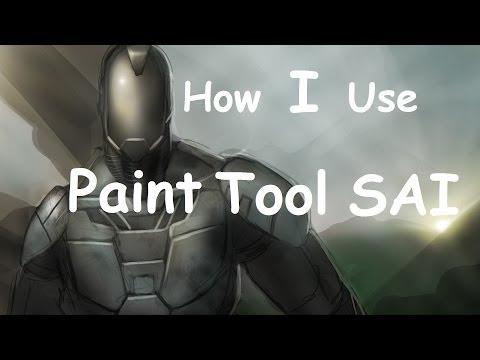 How I Draw w/ PaintTool SAI