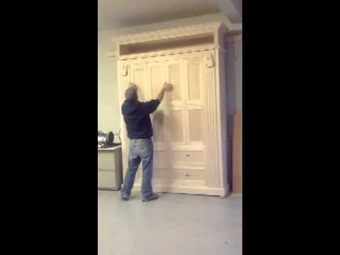 Awesome Custom Murphy Bed / Wall Bed