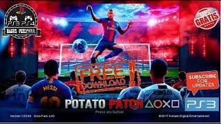 PES 2018 Season 2019 PS3 Potato Patch V7 AIO - PakVim net HD