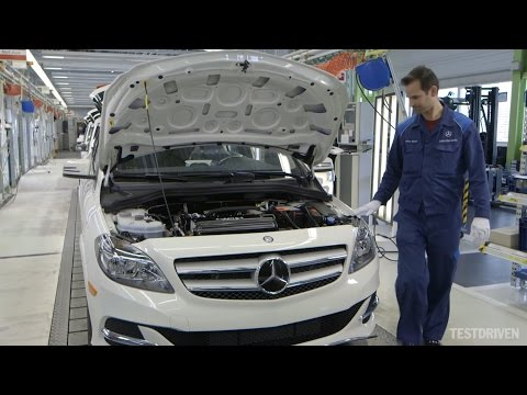 Mercedes-Benz B-Class Electric Drive Production