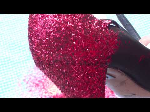DIY: Glitter Your Shoes! (Dorothy Shoes)