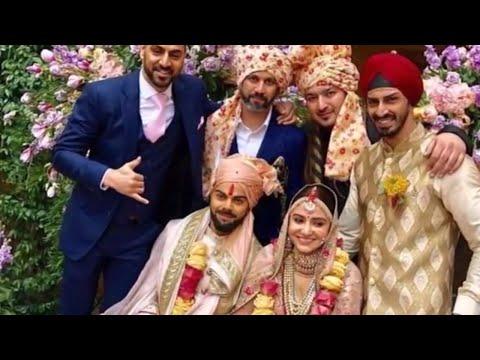 Virat Kohli Anushka Sharma Wedding PICS- Virat Kohli and Anushka Sharma marriage Video