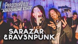 SARAZAR & RAV3NPUNK LIVE @ Parookaville 2017 (Techno Set)
