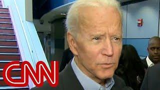 Biden explains why Obama hasn't endorsed him