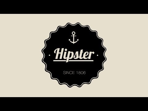 Design A Hipster Badge In Photoshop
