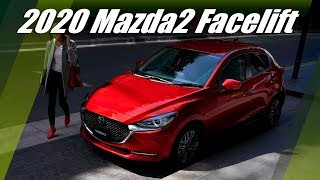 New 2020 Mazda2 Facelift Unveiled