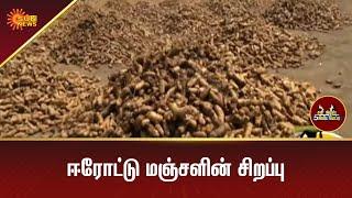 ஈரோட்டு மஞ்சளின் சிறப்பு   5Mins   Tamil Interview   Sun News
