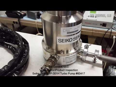Seiko Seiki STP-301H Turbo Pump #60417