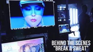 Becky G - Break A Sweat (Behind The Scenes)