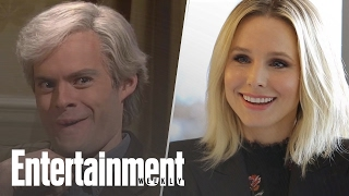 Kristen Bell & Keith Morrrison: How Accurate Is Bill Hader