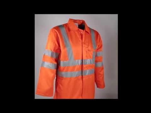hv2200 Baca Veltuff Hi-Viz Polycotton Boilersuit Orange - EN471 & EN343 Class 3 -(Railtrack)