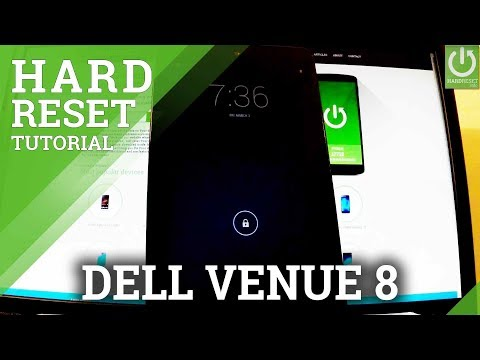How to Hard Reset DELL Venue 8 - Format / Factory Reset / Reset Settings