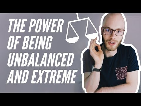 BE EXTREME (screw being balanced...)