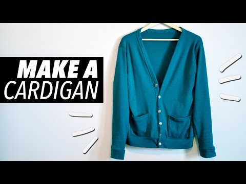 How to Make a Cardigan (with Pockets!) | WITHWENDY