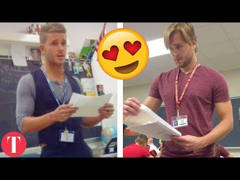 10 HOT Teachers That Might Work At Your School