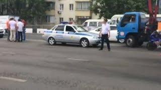 Серьезно травмированная в аварии мотоциклистка чуть не погибла в ДТП в прошлом году в Краснодаре