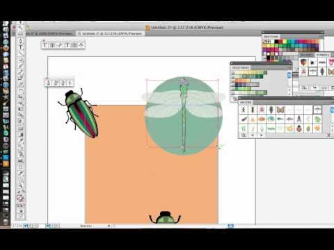 Clipping Masks in Illustrator CS5