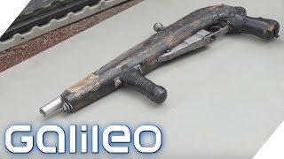 Der Waffen-Friedhof in Amerika: Hier werden alte Gewehre zerstört | Galileo | ProSieben