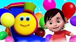 Balloon Song   Bob The Train   Nursery Rhymes & Songs for Babies