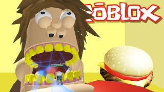 Roblox Adventures / Escape the Giant Fat Guy Obby / Evil Fat Guy Wants to Eat Me!
