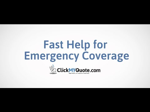 Fast Help For Emergency Coverage