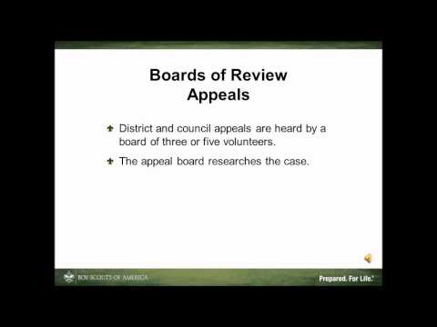 Board of Review Appeals 4 min)
