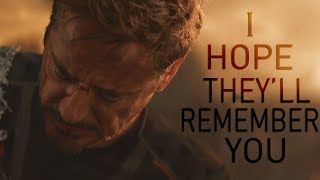 (Marvel) Tony Stark | I Hope They