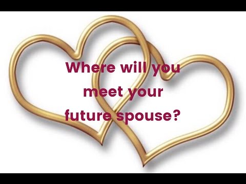 Where will you meet your future spouse?? - Astrology gives you the answer.