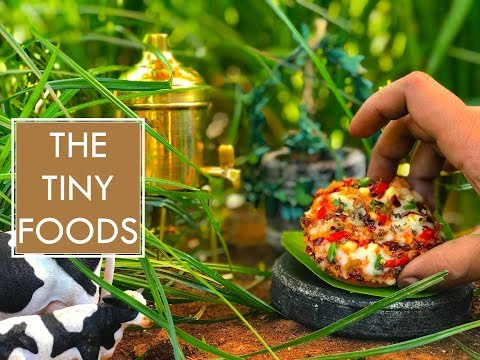 Veg Cheese Pizza | Without Oven | EP18 | The Tiny Foods