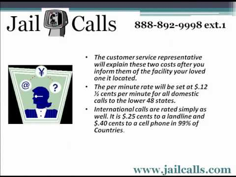 Jail Calls- Collect to your Cell Phone from a prison or jail