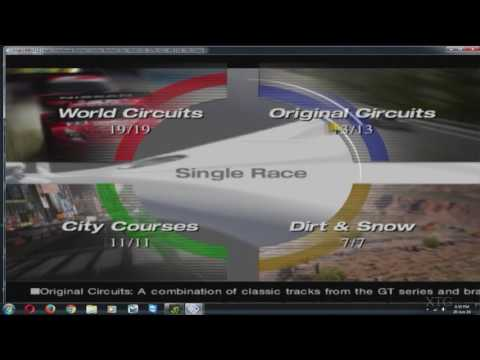 Gran Turismo 4 (PCSX2 v1.5.0) 60FPS Settings