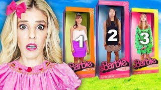 Which BEST FRIEND inside DOLLHOUSE Wins Escape Room in Real Life! | Rebecca Zamolo