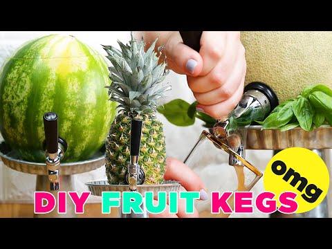 DIY Fruit Kegs
