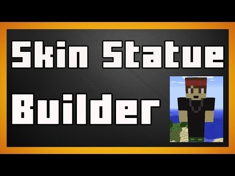 Skin Statue Builder - Make a Statue of a skin in seconds! - Minecraft Plugin