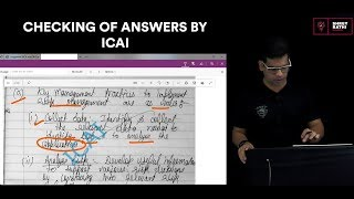 Checking of Answers By ICAI