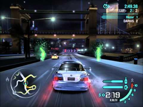 Need For Speed Carbon Final Boss- Razor vs Darius [HD]
