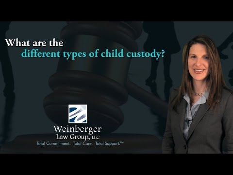 FAQ: What are the different types of child custody?