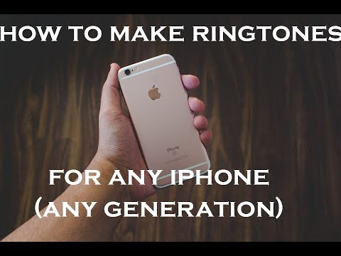 How to make ringtones for any iPhone