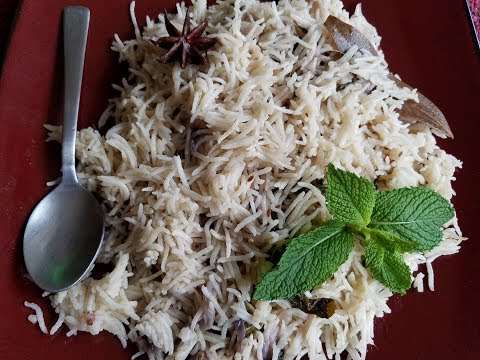 Easy and Tasty Unsweetened Coconut Milk Rice in Tamil with English subtitle | coconut milk kuska |